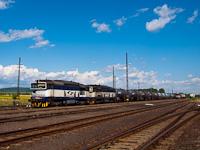 A ŽSSKC 756 001-4 és a 756 008-9 Bánréve állomáson