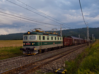 The ŽSSKC 183 019-9 seen between Ganovce and Poprad-Tatry