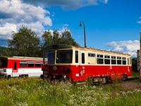 A ŽSSK 810 604-3 Fülek állomáson