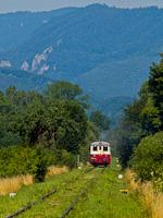 A KŽC Doprava M 262 0124 Murányhosszúrét és Murányalja között