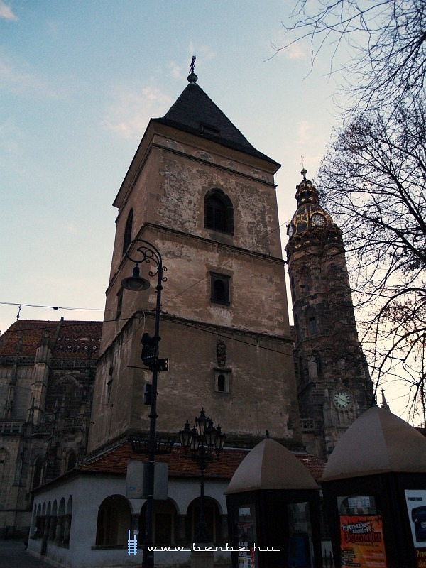 Kassai utcaképek - Orbán-torony fotó