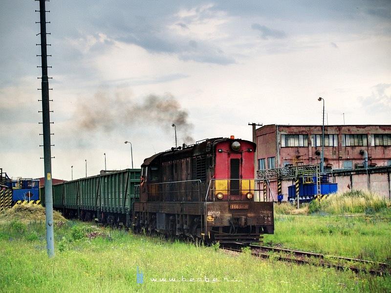 T669 0516 a Kassai Vasmû vasércbuktatójánál fotó