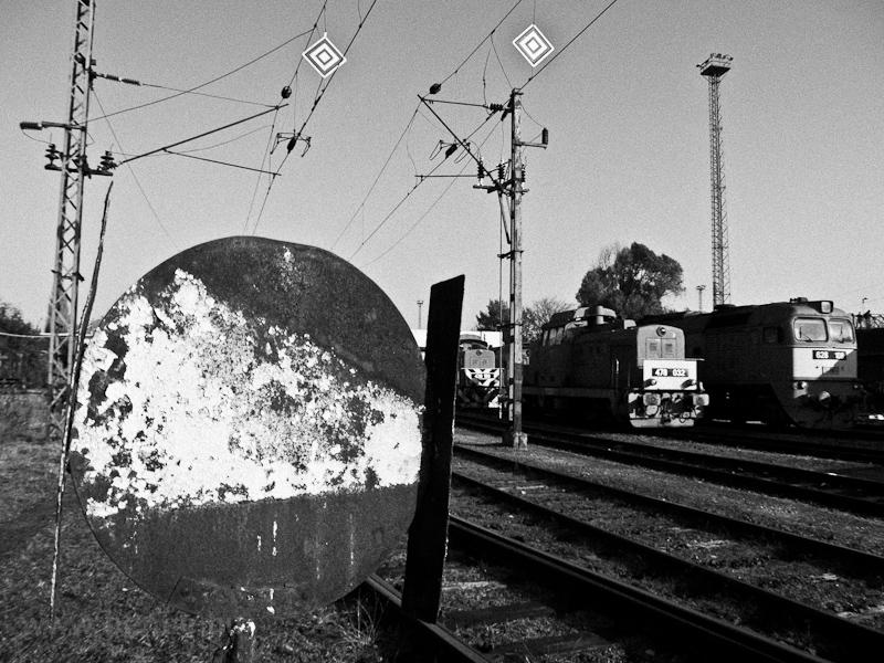 A MÁV-TR 478 032 és a 628 1 fotó