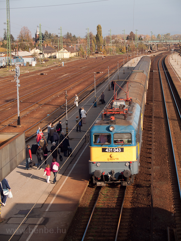 A MÁV-TR 431 043 Hatvanban fotó