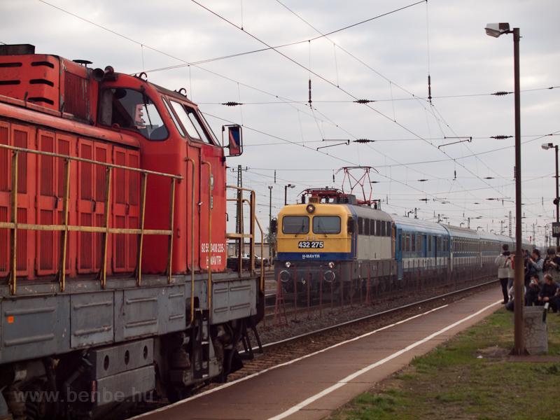 A MÁV-TR 432 275 Vámosgyörk fotó