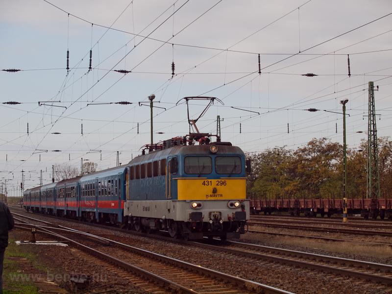 A MÁV-TR 431 296 Dabas-Eger fotó