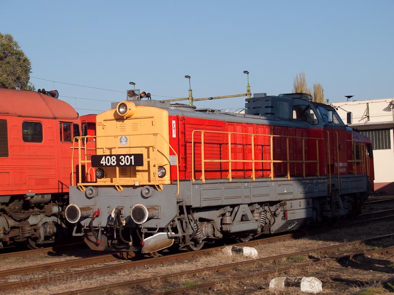 A MÁV-TR 408 301 pályaszámú fotó