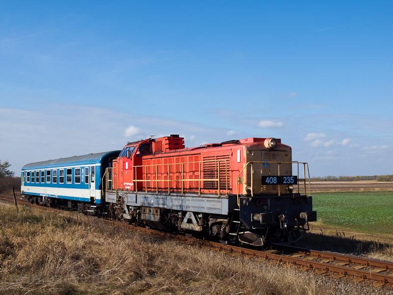 A MÁV-TR 408 235-ös Púpos Jászdózsa és Jászapáti között  fotó