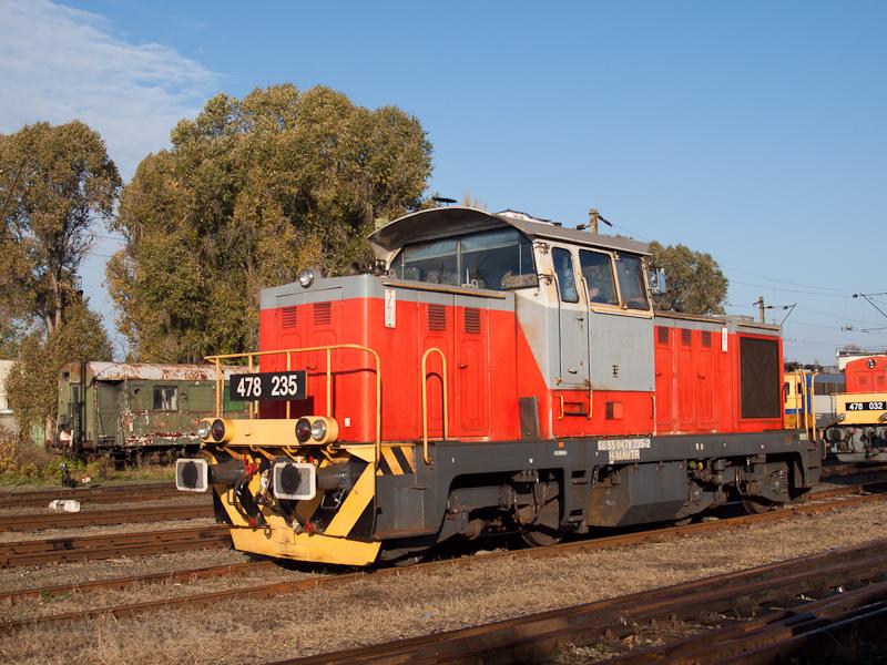 A MÁV-TR 478 235-ös Dácsia  fotó