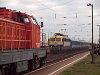 A MÁV-TR 432 275 Vámosgyörkön egy egri IC-vel