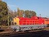 A MÁV-TR 408 201 pályaszámú Púpos Hatvanban a sorozat ötvenedik évfordulójára szervezett ünnepségen