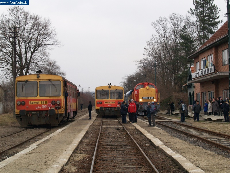 Bzmot 188 és 246 Recsk-Parádfürdõn fotó