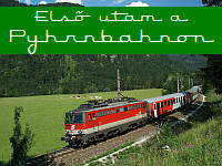 My first journey on the Pyhrnbahn