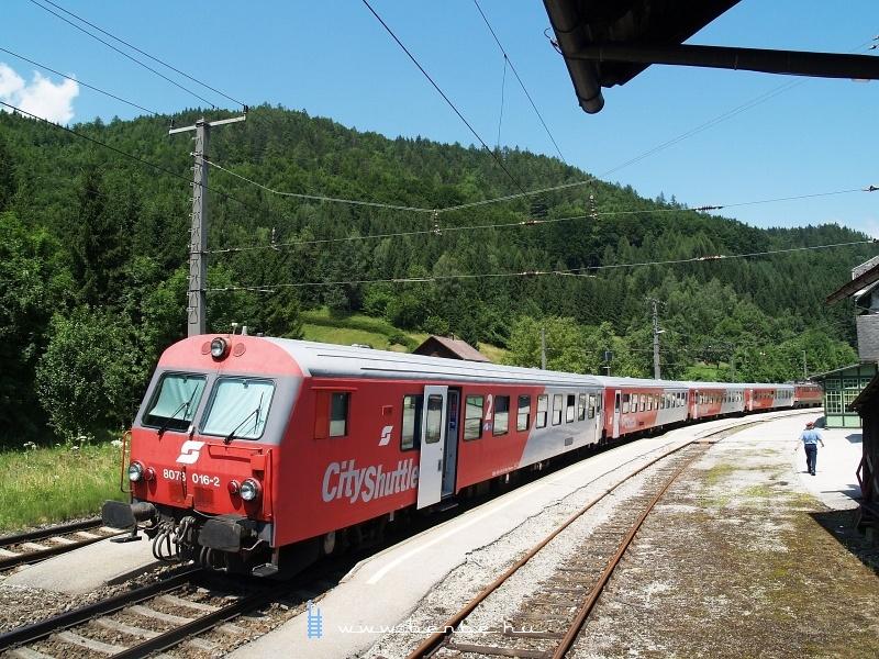 8073 016-2 Klaus an der Pyhrnbahn állomáson fotó