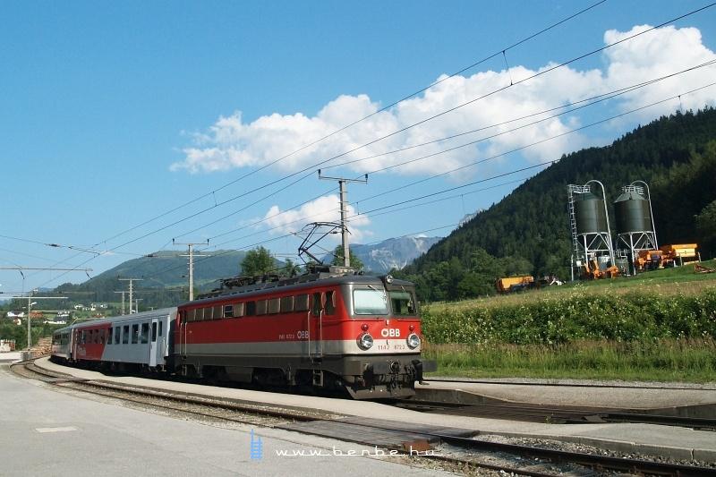 A nagylámpás 1142 672-3 Windischgarstenben fotó