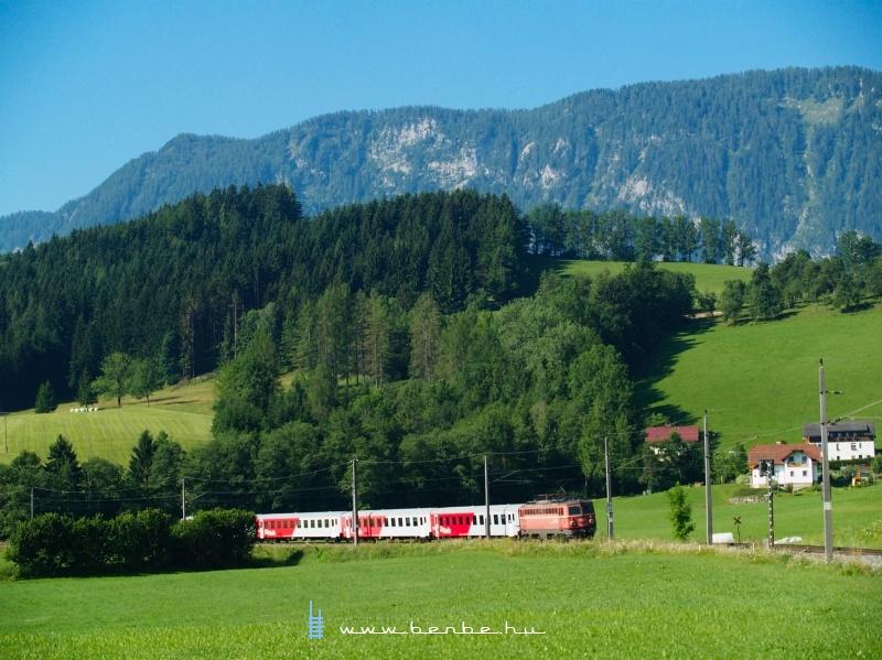 A régi festésű 1142 564-2 Windischgarsten és Spital am Pyhrn között fotó