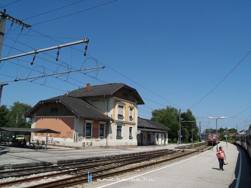 Neuhofen a. d. Krems állomása fotó