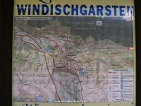 The detailed map of Windischgarsten