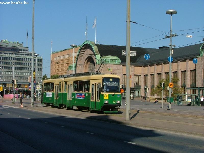 Nr I. villamoskocsi a Rautatientorin fotó