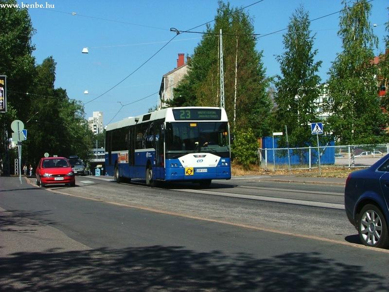 Ikarus EAG E94 autóbusz Helsinki Alppiharju negyedében fotó