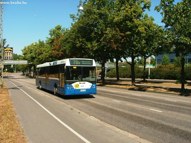 Ikarus EAG E94 autóbusz Helsinki külvárosában fotó