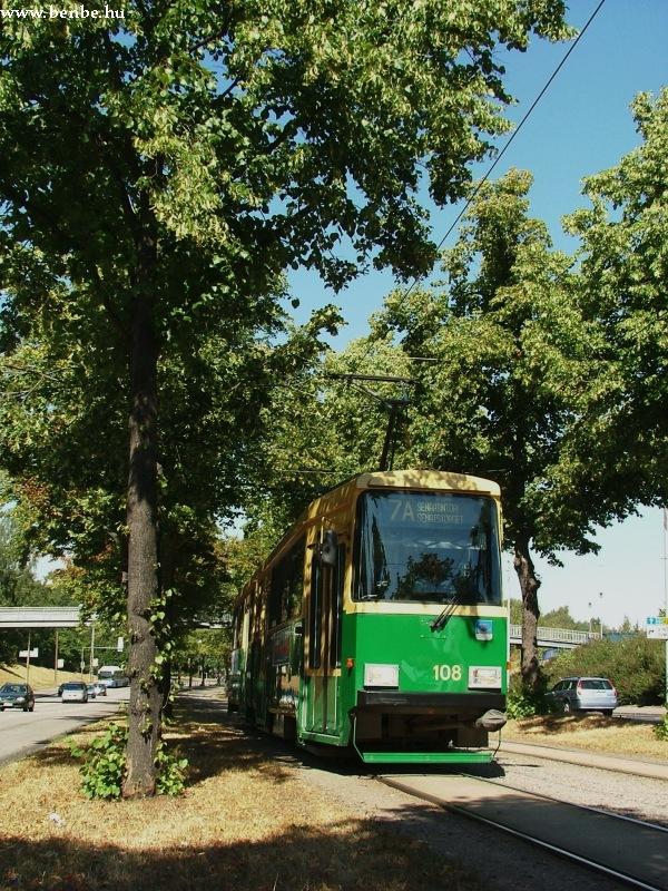 Nr II. típusú villamos Helsinkiben fotó