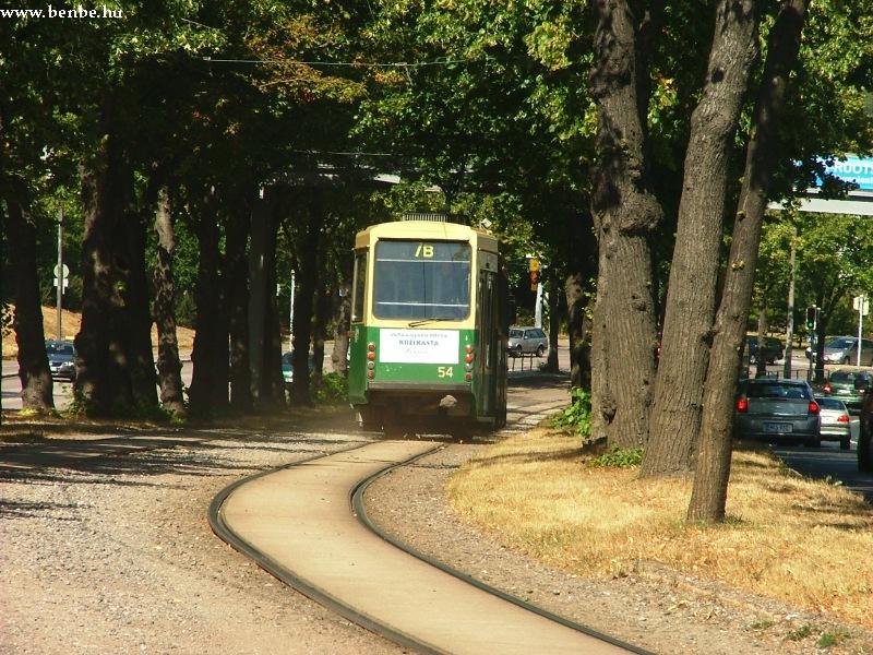 Nr I. típusú villamos Helsinkiben fotó