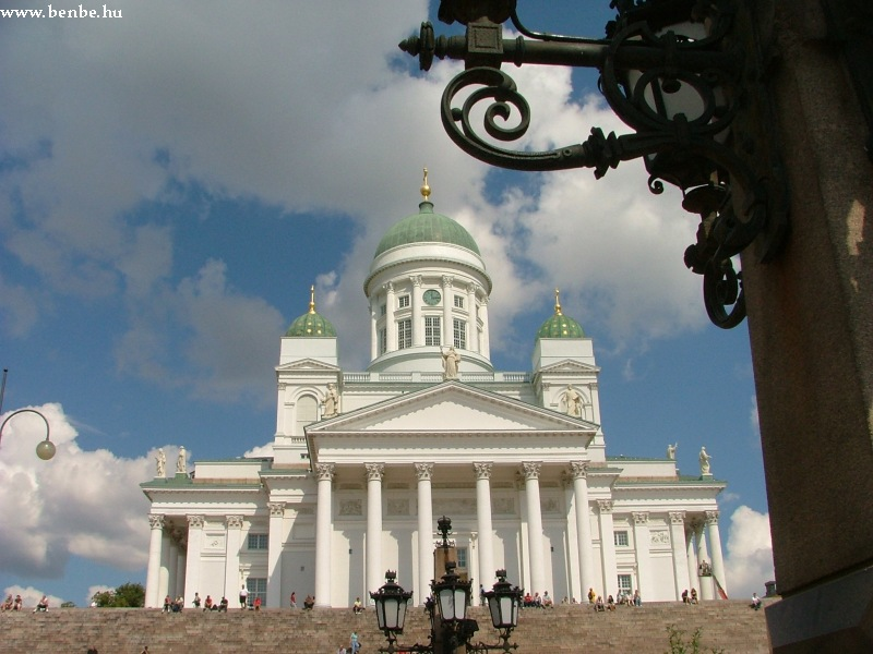 A Luteránus Székesegyház Helsinkiben fotó