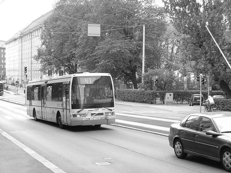 EAG E94 Helsinki Töölö negyedében fotó