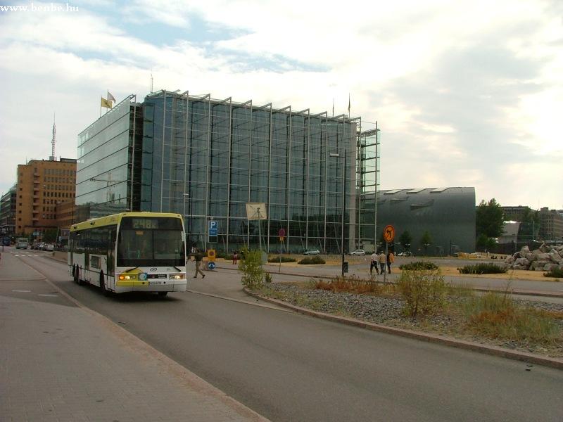 EAG buszok Helsinki fõpályaudvaránál fotó