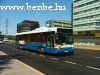 Volvo autóbusz Helsinki Munkkiniemi negyedében
