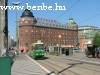 An Nr II. type tramcar in Hakaniemi in Helsinki