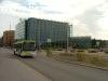 EAG buszok Helsinki fõpályaudvaránál