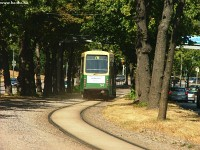 A tram type Nr I. in Helsinki
