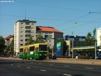 A tram type Nr II. in Munkkiniemi in Helsinki