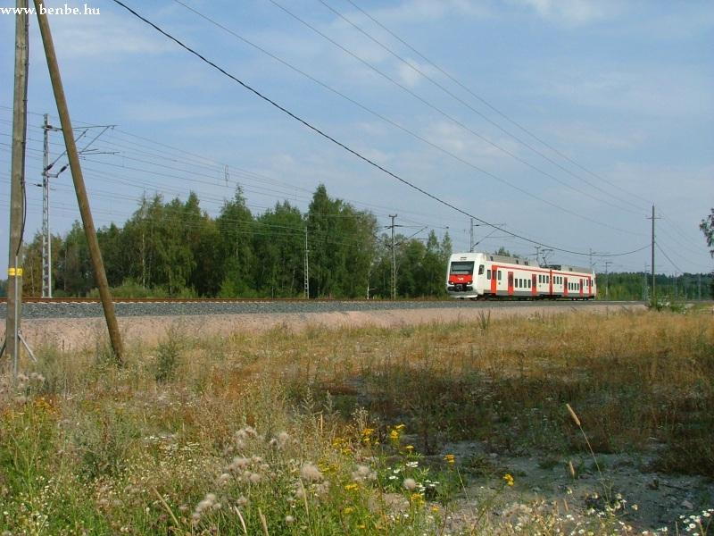 Sm4 motorkocsi Hiekkaharju és Koivukylä között fotó