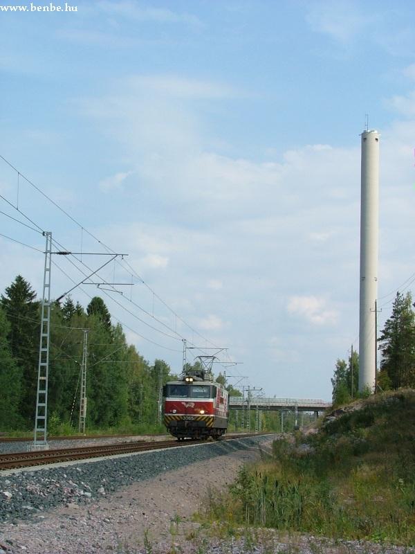 Sr1 villanymozdony Hiekkaharju és Koivukylä között fotó