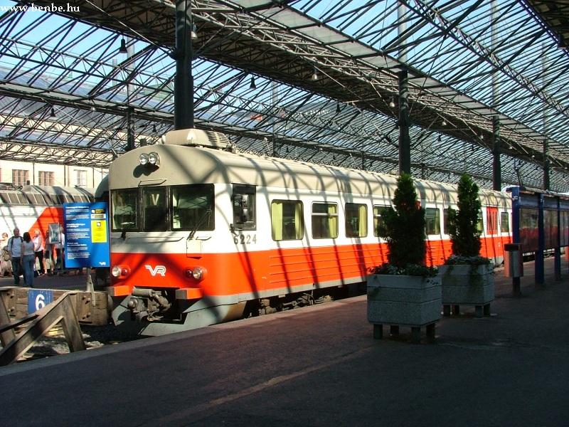 Felújított Sm1 motorvonat Helsinkiben fotó