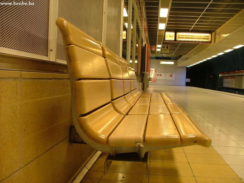 Pad Kajsaniemi állomáson a Helsinki metróban fotó