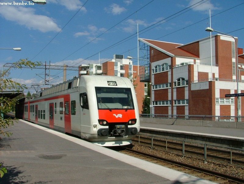 Sm4 típusú motrovonat Pohjois-Haaga megállóban fotó