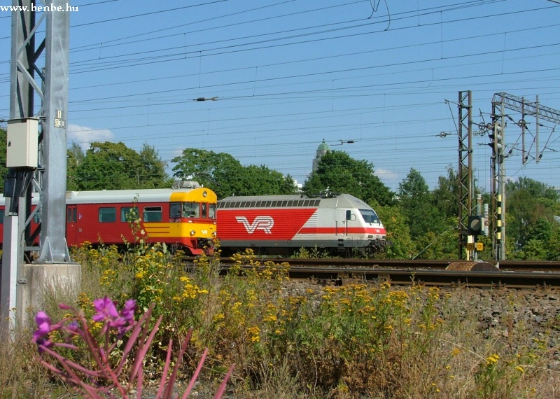 Sr2 és Sm2 vonatok Helsinkiben fotó
