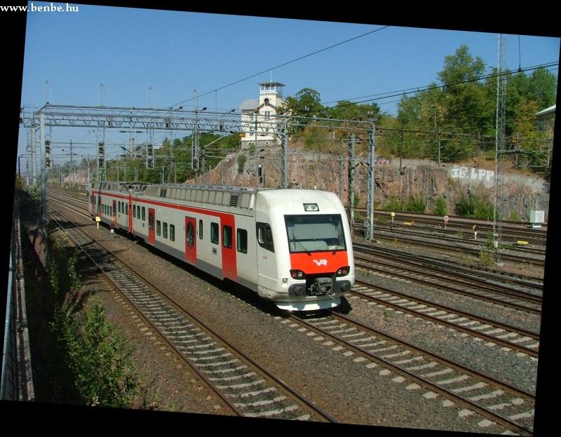 Sm4-es vonat hagyja el Helsinkit fotó
