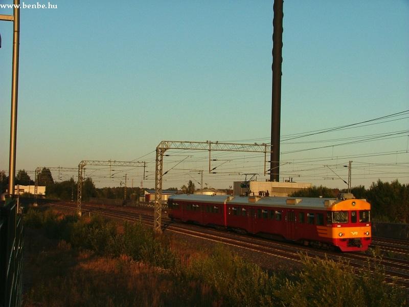 Sm2 vonat zónázik Leppävaara és Pasila között fotó