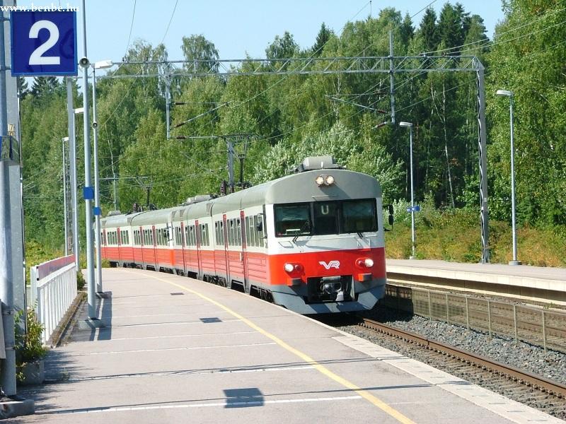 Sm1 vonat Koivuhovi megállóban fotó