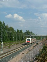 An Sm4 train headed to Koivukylä
