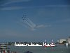 The aerobatics show of Breitling Jet Team