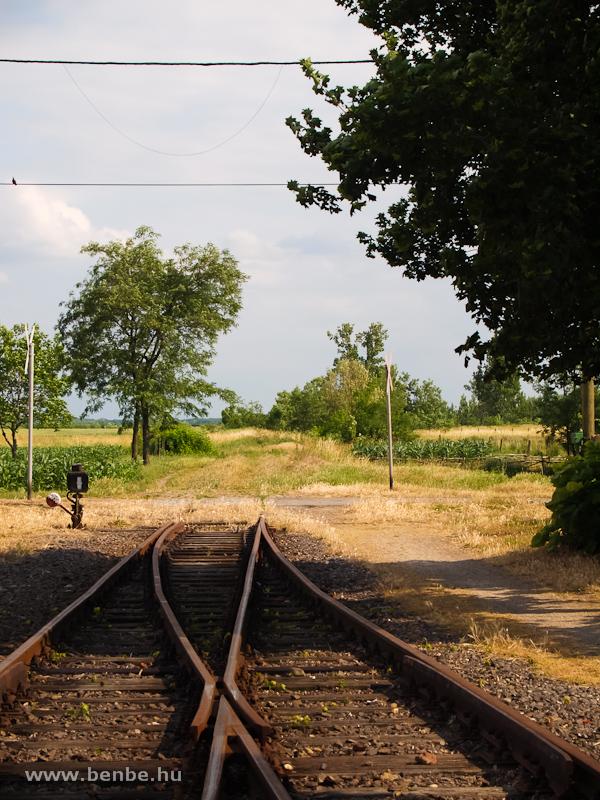 A 106-os vonal folytat�sa Nagyv�rad fel� (Oradea, Romania) fot�