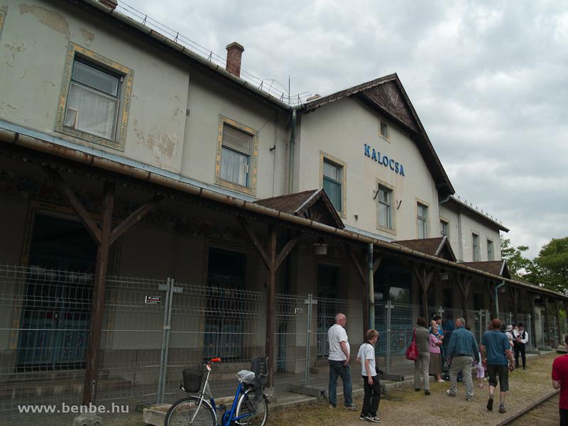 Kalocsa állomás fotó
