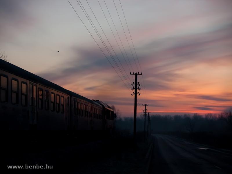 M41 2133 Poroszló és Tiszafüred között a Tisza-tavon fotó