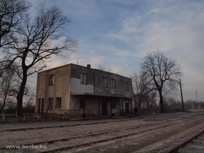 Tiszacsege állomás fotó